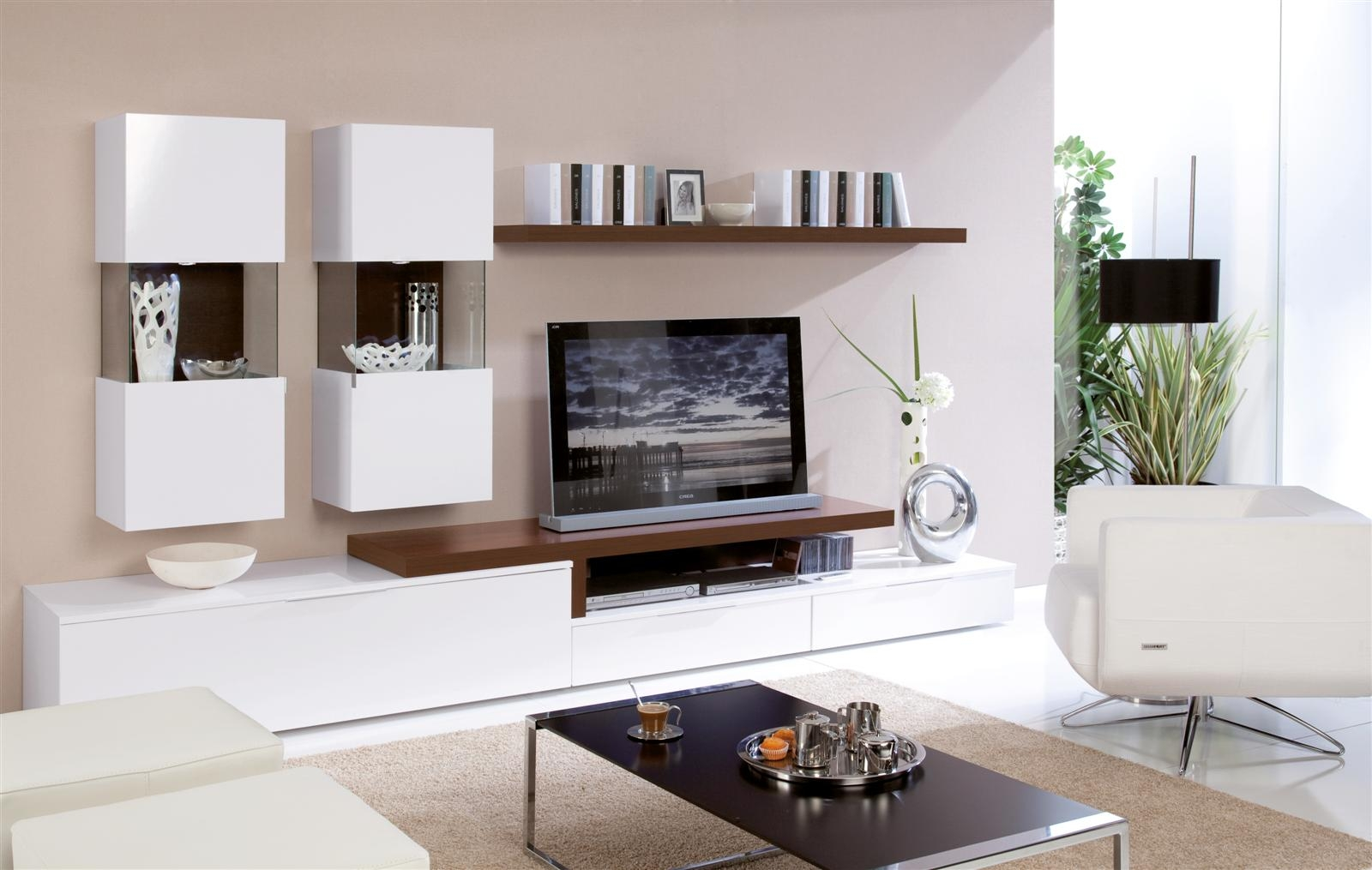 tv wall unit design 20 Modern TV Unit Design Ideas For Bedroom  Living Room With Pictures