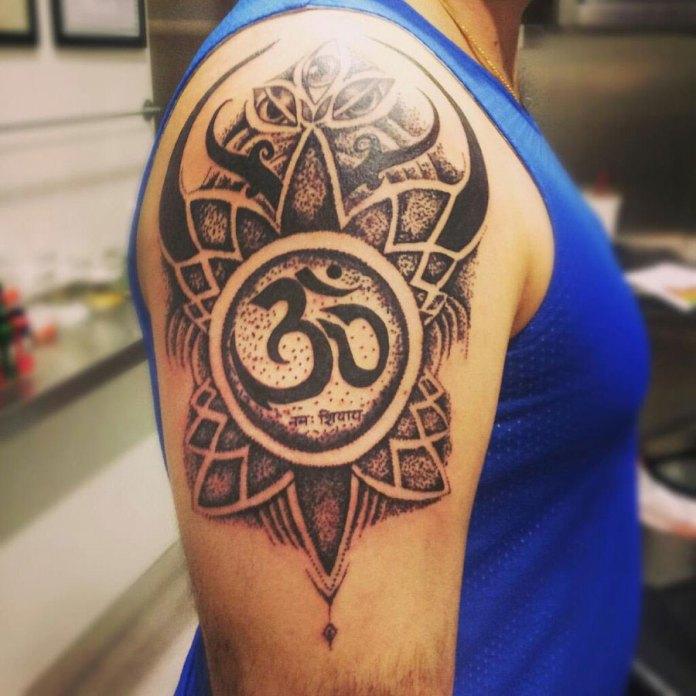 complex om tattoo design ohm tattoo latest tattoo
