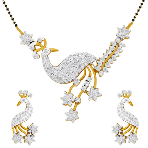 diamond mangalsutra images