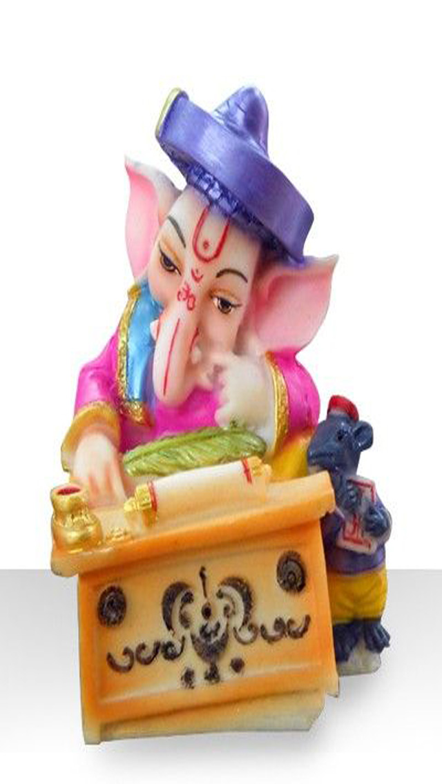 lord ganesha reading images