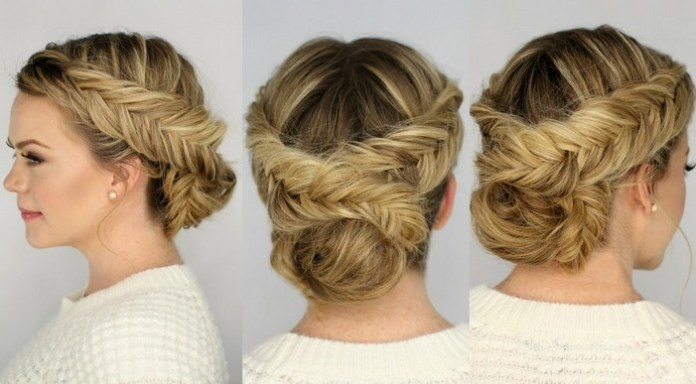 latest party hairstyle