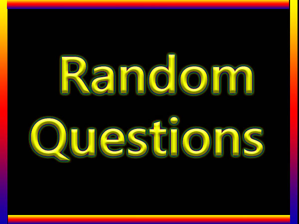 random this or that questions
