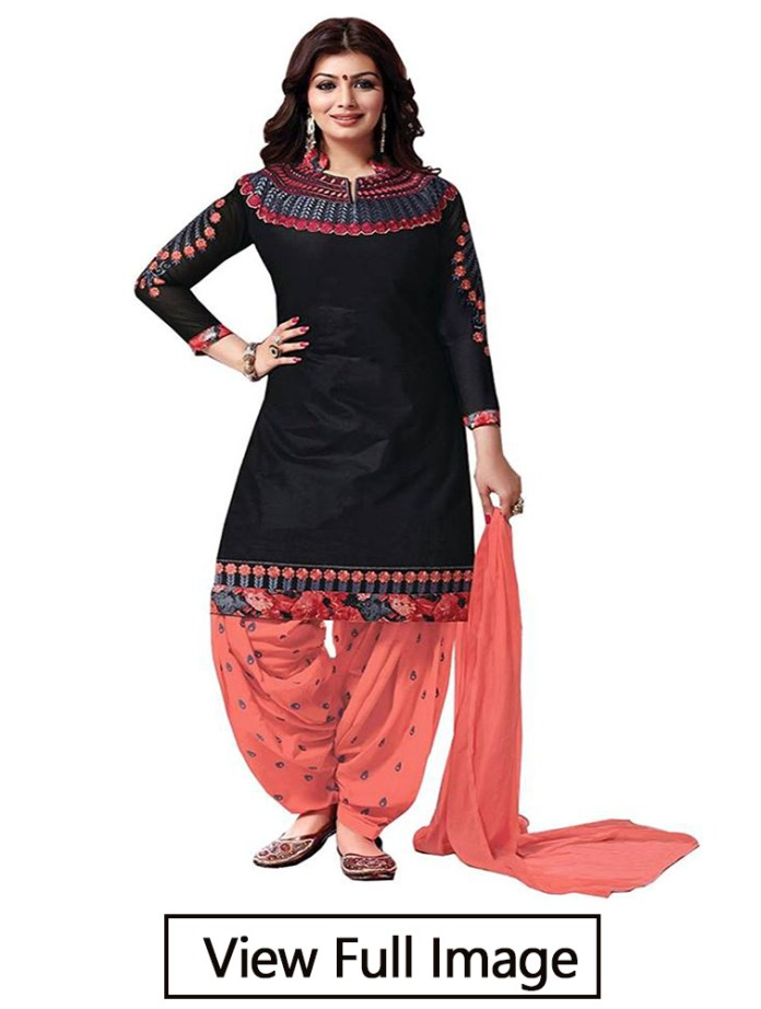 stylish salwar suit neck design