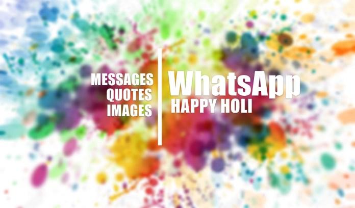 holi whats app status