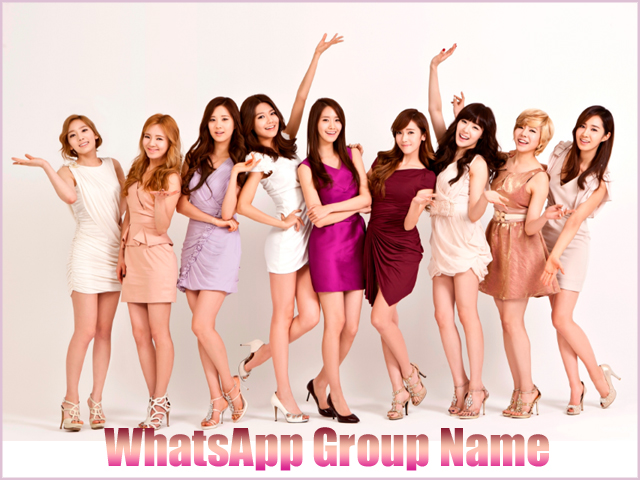 whats app group name for girls