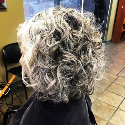 hairstyle for fine hair over 50