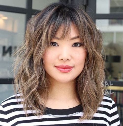 modern shaggy hairstyle ideas