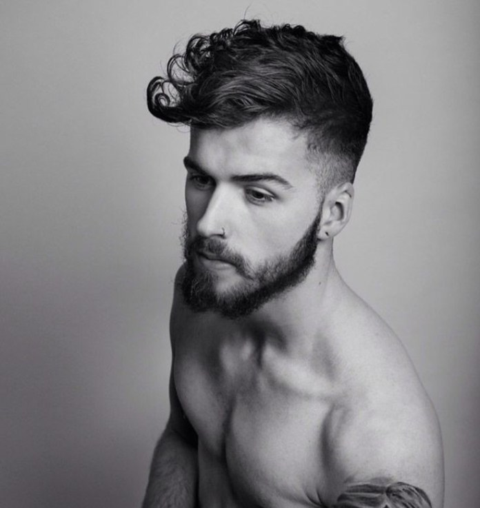 hairstyle idea for men