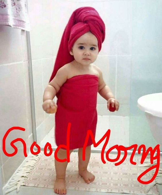 good morning cute pic