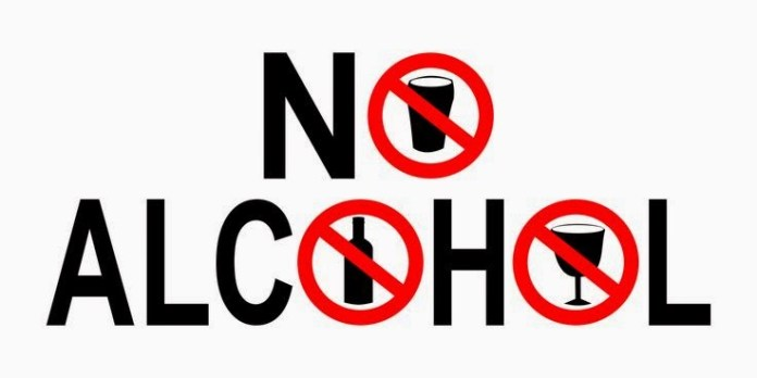 say no to alcohal