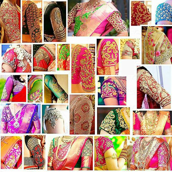 Latest Mind Blowing Maggam Work Blouse Design Catalogue Youme And Trends,Simple Wedding Cake Designs