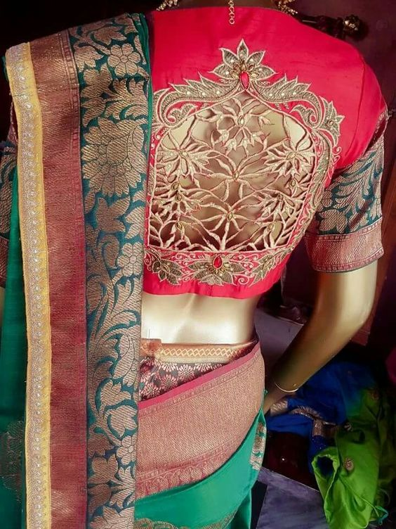 Latest Mind Blowing Maggam Work Blouse Design Catalogue