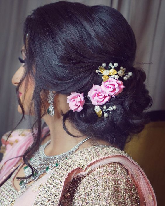 Hair Bun Style For Indian Wedding: 36+ Best Hairstyles For Lehenga Must Try To Grace This