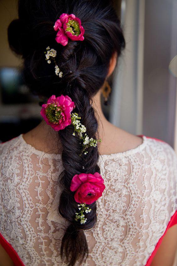 bridal wedding hairstyle