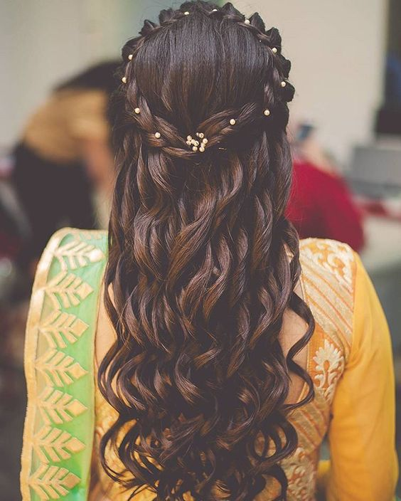 Hairstyles For Girls For Wedding: 36+ Best Hairstyles For Lehenga Must Try To Grace This