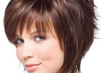 Short Hair style For Round Faces