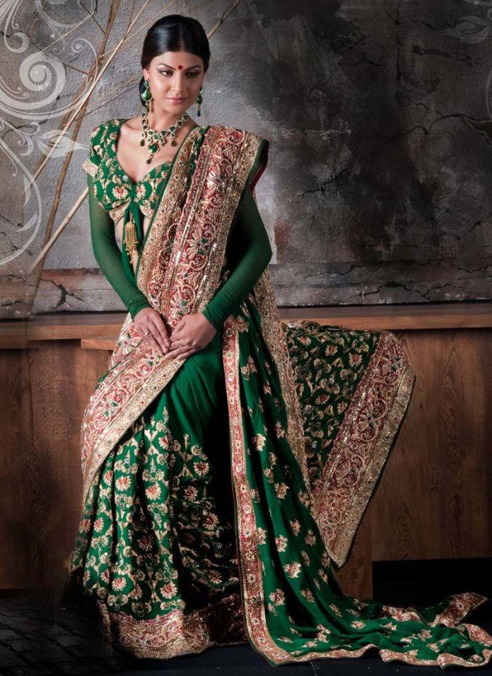 wedding reception sarees with price