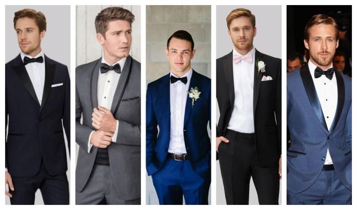 Bow Tie Wedding Suit