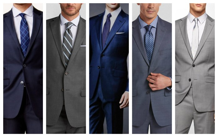 Sharkskin Suit For Wedding
