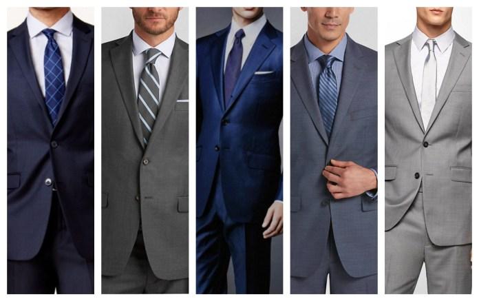 Sharkskin Suit For Wedding