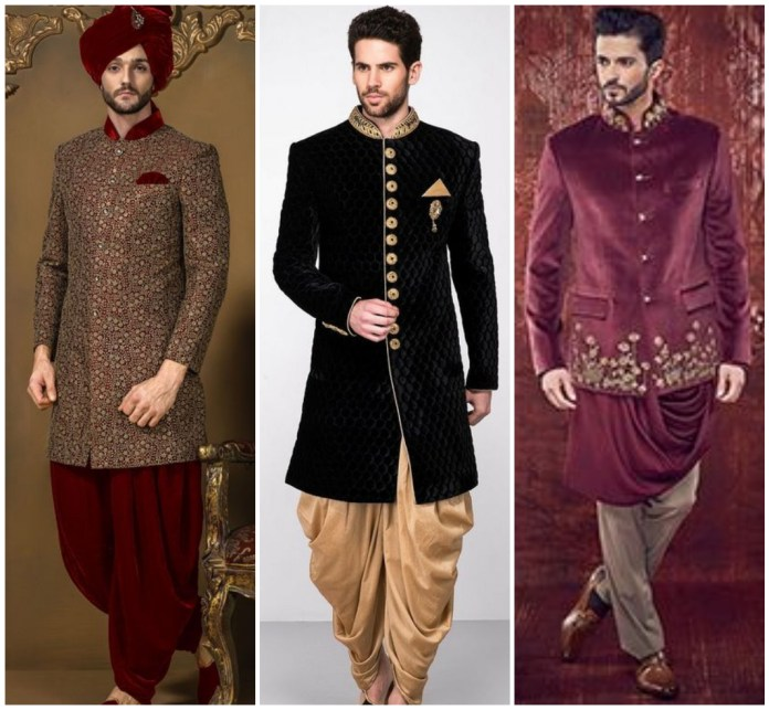 Royal Jodhpuri Sherwani In Velvet