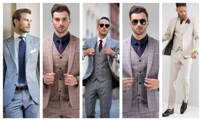Windowpane Suits For Men