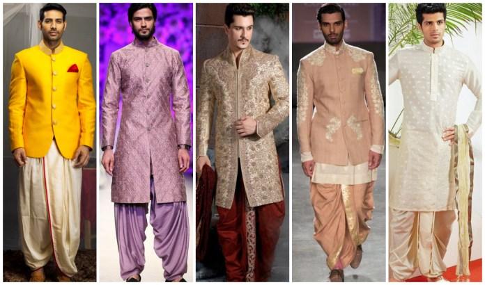 Dhoti Kurta Pattern For Wedding