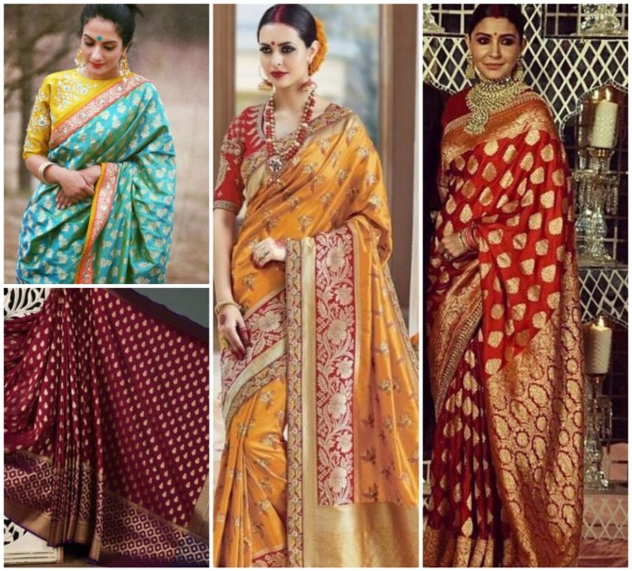 Banarasi Brocade Saree
