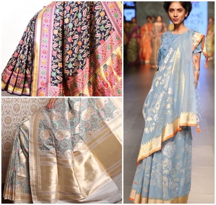 Banarasi Silk Jamdani Saree