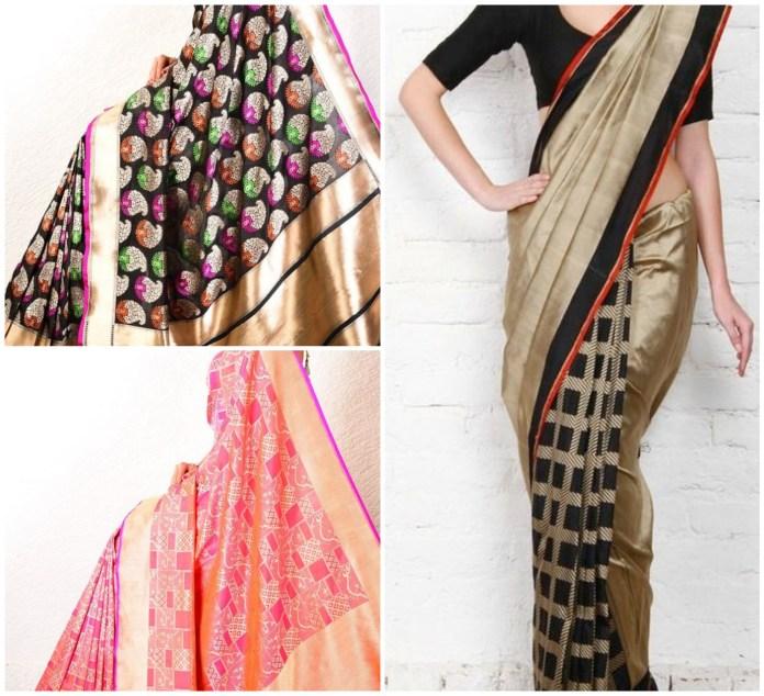 Bnarasi Cutwork Saree Online