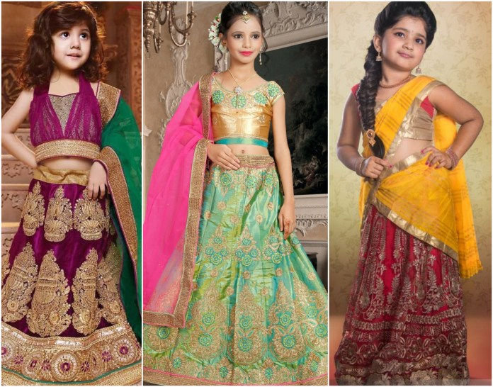 Girlish Embroidered Lehenga Choli