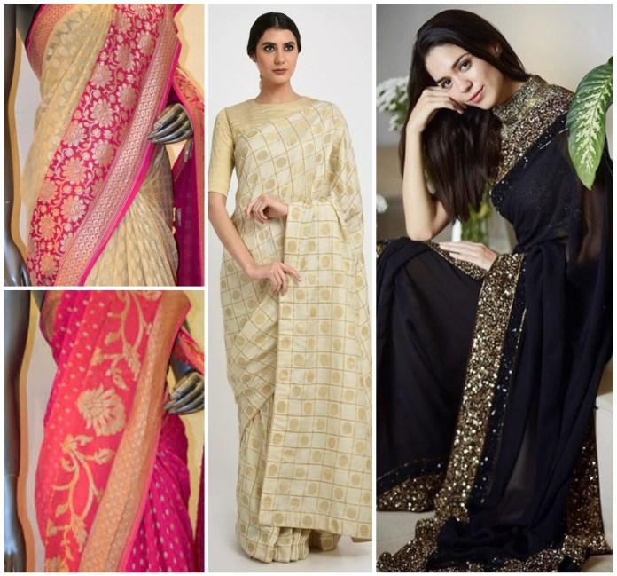 Georgette Silk Banarasi Saree Online