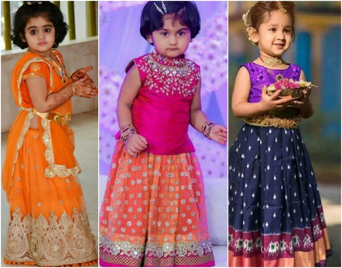 Kids Lehenga Choli Collection