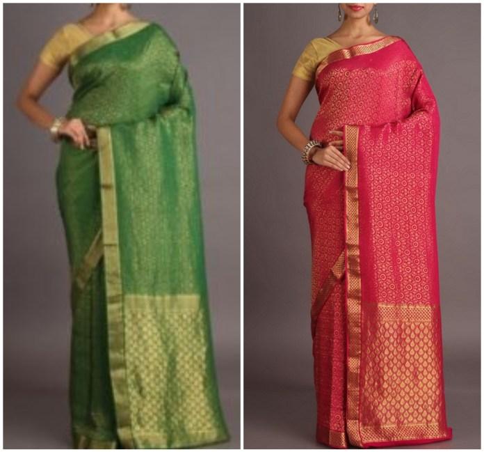 Shattir Banarasi Saree Online