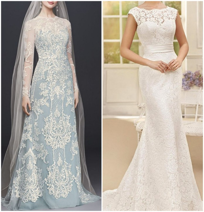 Sheath Wedding Gown Online