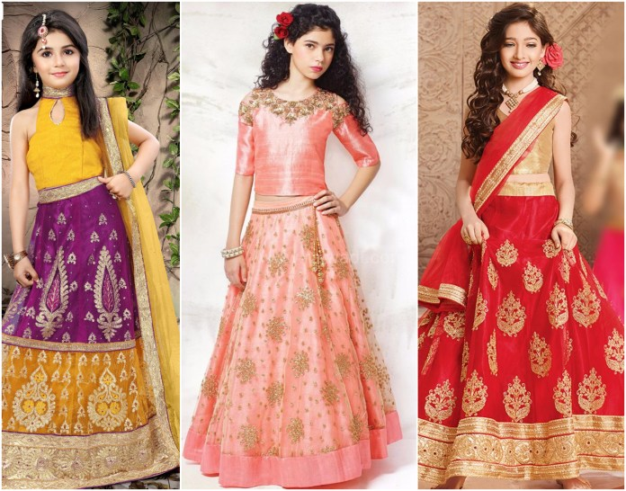 Wedding Lehenga Collection For Kids