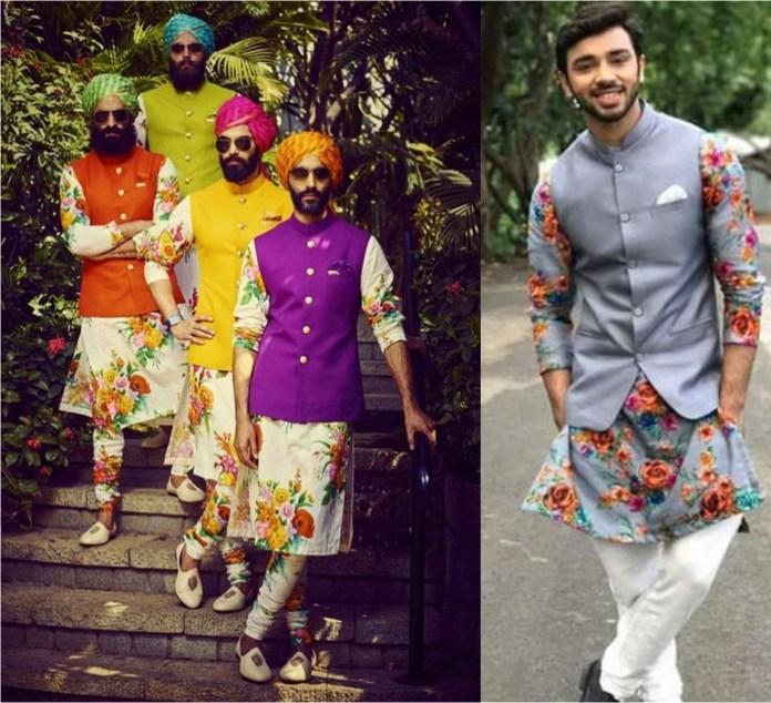 Designer Kurta Pajama With Modi Jacket
