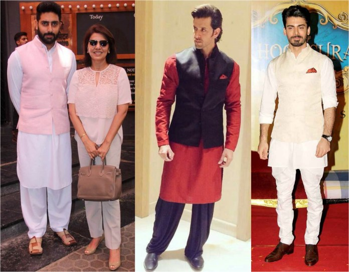 Kurta Pajama With Nehru Jacket