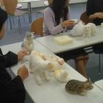 日本羊毛アート学園の受講風景