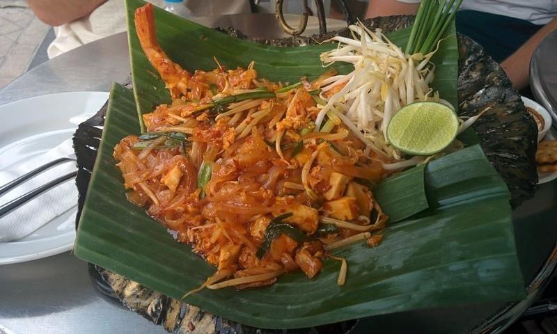 A typical pad thai