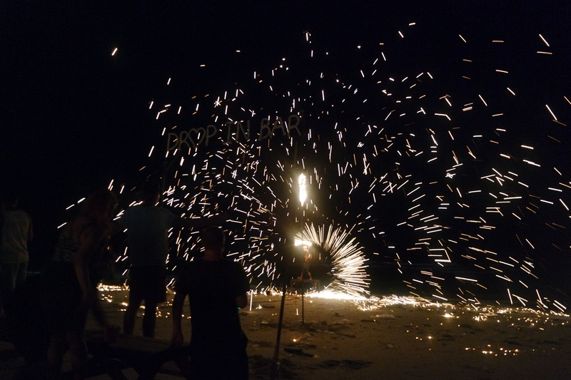 Sparks at the Full Moon Party