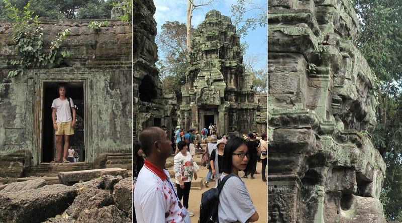 Various parts of Ta Prohm