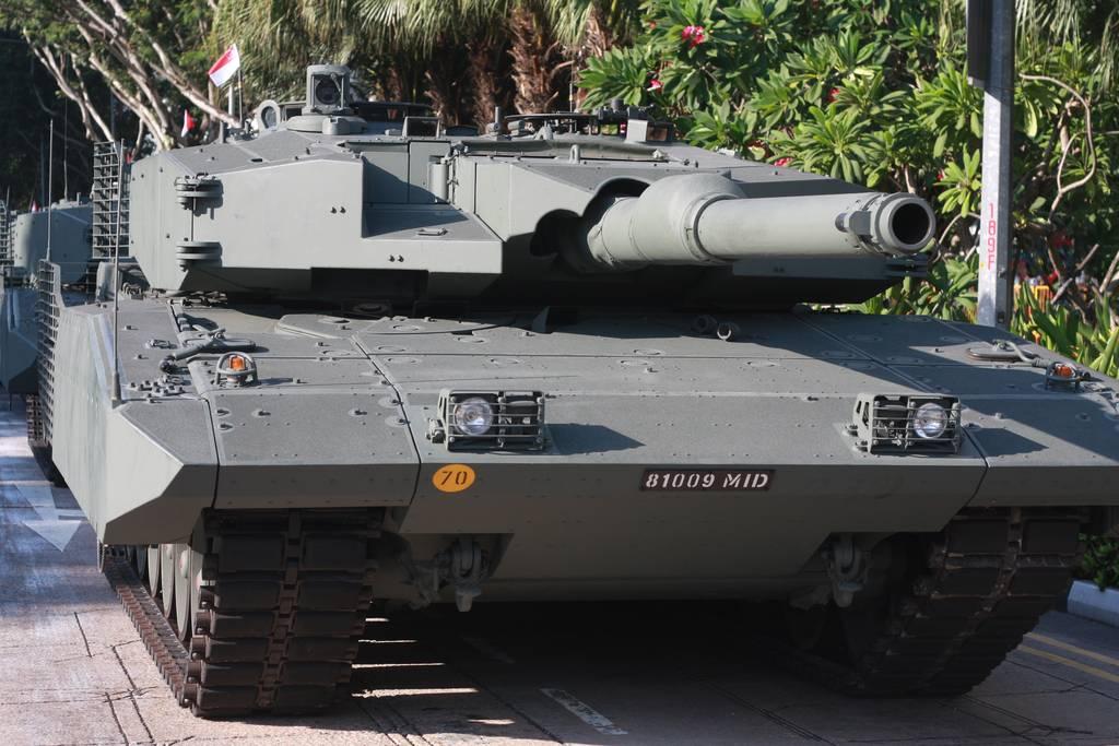 M1 Abrams tank in Singapore