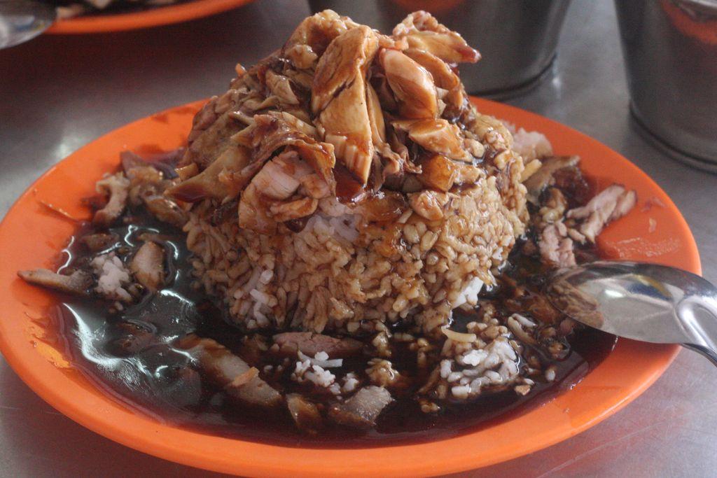 Bukit chicken cup rice