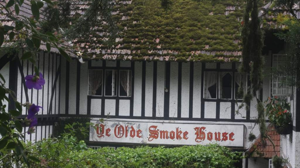 Old tudor house in Cameron Highlands
