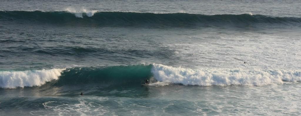 Surfing at Kuta Lombok