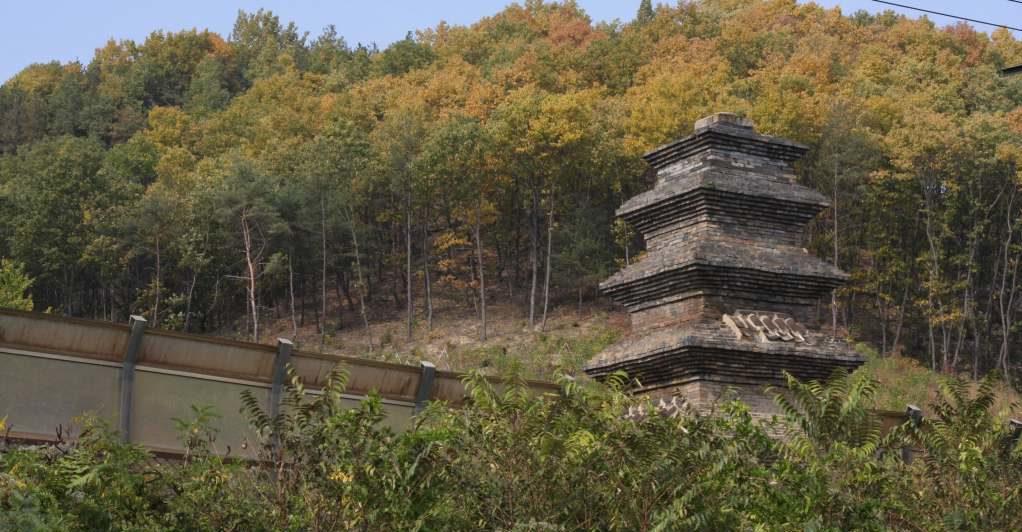 Stone pagoda in Andong