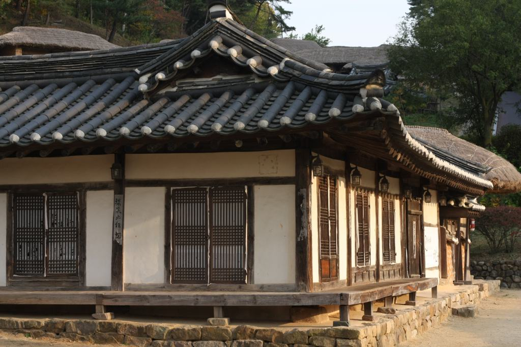 Korean hanuk at Andong Folk Museum