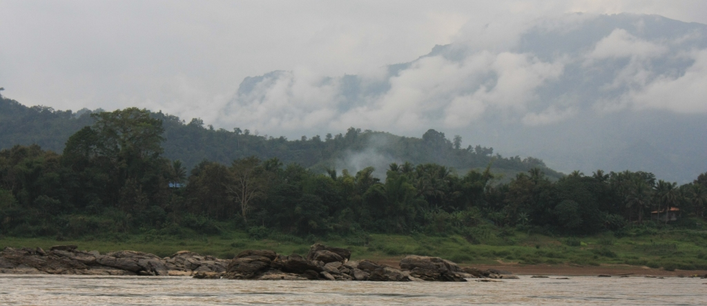 The Mekong river from the slow boat