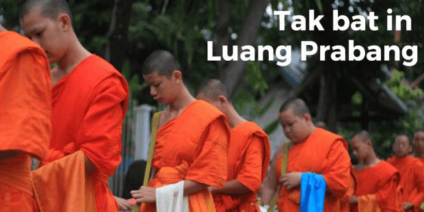 Tak bat in Luang Prabang